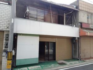 一鍼灸院開業準備・外壁