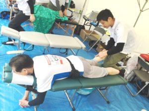 2016淀川市民マラソン救護ボランティア