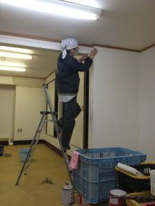 一鍼灸院開業準備・壁