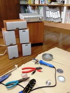 5.1ch音響システム設置