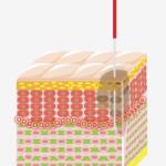 傷んだ部位に鍼が刺さり、微小な傷ができます。