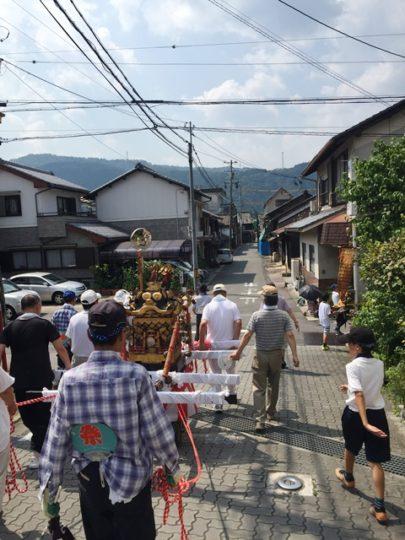 寿栄(すさか)神社夏祭り