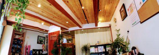 院内改装・待合室天井